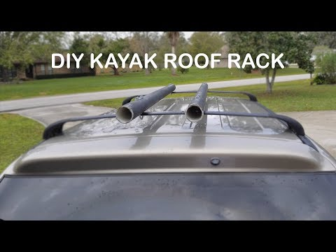Diy Pvc Kayak Roof Rack Youtube