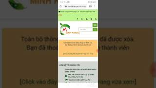 Hướng dẫn cách tạo tài khoản cho tuyến dưới và tạo website cá nhân