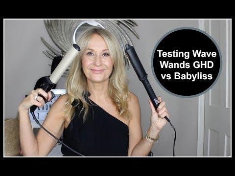 Testing Wave Wands GHD Vs Babyliss  - Nadine Baggott