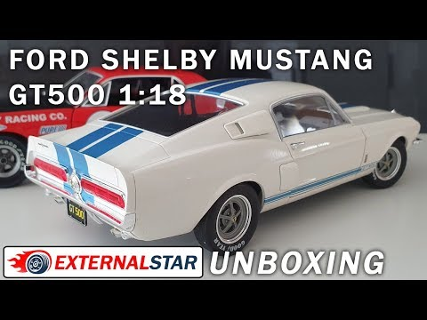 1:18 Ford Mustang 1967 GT500 Shelby by Solido | Unboxing & Review