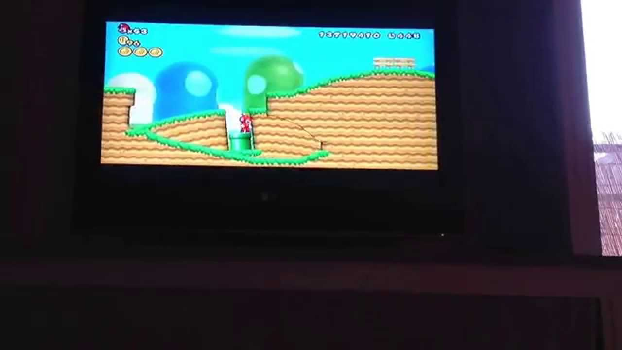 Passage secret dans mario bross wii 1 niveau 1 1 youtube - Passage secret mario bros wii ...