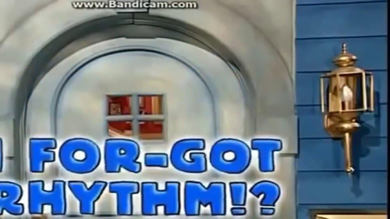 bear in the big blue house i for got rhythm youtube
