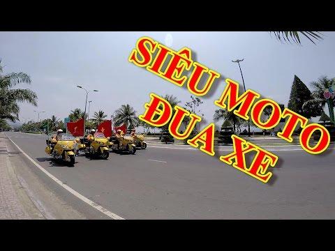 MotoVlog VietNam   Nha Trang 44 - DÀN SIÊU MOTO HỘ TỐNG ĐUA XE ĐẠP CÚP TRUYỀN HÌNH HTV