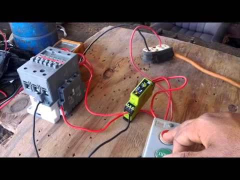 How to wire a Timer in a Control Circuit.