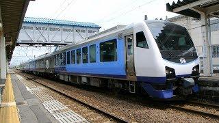 響くVVVFサウンド!JR東日本ハイブリッド気動車出発シーン (HB-E300系) リゾートしらかみ・東能代駅にて