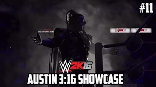 "WWE 2K16 - 2K Showcase -""Austin 3:16""  Walkthrough Part 11[1080p HD PS4] No commentary"