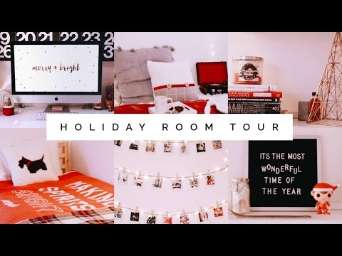 HOLIDAY ROOM TOUR 2016! ❄️✨