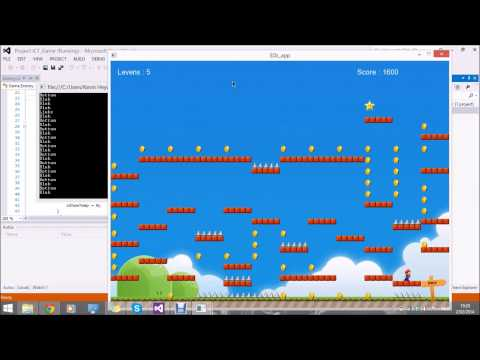 C# Game : Super Mario (with SdlDotNet Library)