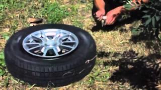 Пособие.Как накачать колесо без насоса