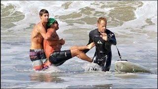 Самые Кровавые Нападения АКУЛ на Людей. Акула на пляже - Документальный фильм 2017