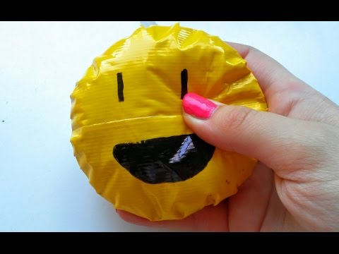 DIY duct tape squishy tutorial!