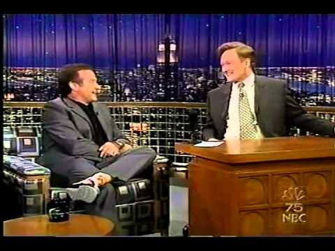 Robin Williams on Conan O'Brien 2002/5/14