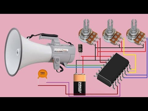 how to make echo sound circuit at home - YouTube