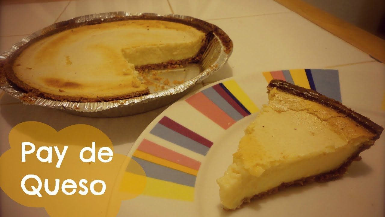 pay de queso receta original