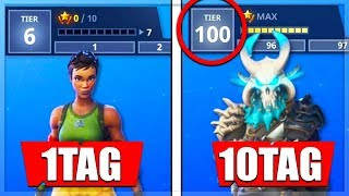 ❌TRICK LEVEL 100❌SCHNELL LEVEL100 Battle Pass Season5 Gratis|| Fortnite Battle Royale deutsch