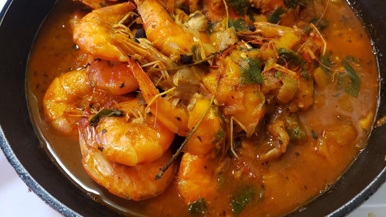 An Amazing Jumbo Shrimp Seafood Recipe  Delicious & Tasty ...