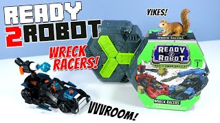 Ready 2 Robot Wreck Racers Series 1 Toys Review