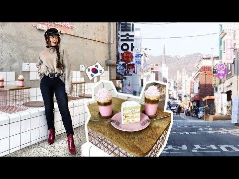 SEOUL SOUTH KOREA 2018 VLOG   Instagram Cafes, K-Drama spots, Shop + Eat with me✨