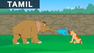 Elephant And The Dog | யானையும் நாயும் | Jataka Tales In Tamil | MagicBox Tamil Stories