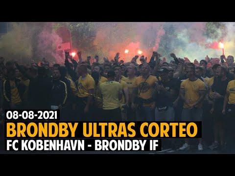 Download Brøndby-Fans March & Corteo | FC København - Brøndby IF 08.08.2021 | BIF Fanmarchen Mod Parken