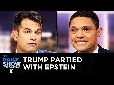 Video Surfaces of Trump Partying with Jeffrey Epstein | The Daily Show