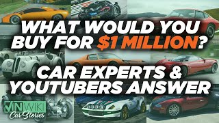 What's the coolest car you can buy for $1 million?