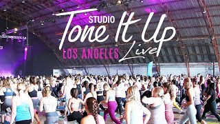 Studio Tone It Up Live Los Angeles...best day ever!!