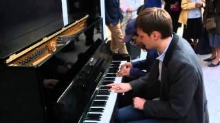 Impro Piano Cover By SedZik 78 et Arnaud Keller Gare Paris Saint Lazare
