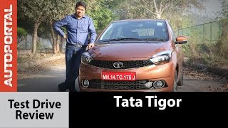 Tata Tigor Test Drive Review - Autoportal