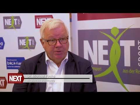 Magazin NEXT im exklusiven Interview mit Dr. Michael Fuchs und Josef Oster