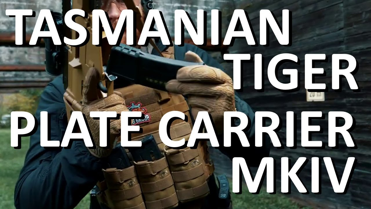 Tasmanian Tiger TT Plate Carrier Mkiv MC Unisex-Adulto Piane