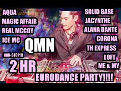 Download AQUA, Real McCoy ,Magic Affair ,ICE MC, Loft, Th Express,Solid Base,2 HR NON-STOP Euro Dance Megamix
