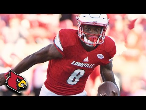 Lamar Jackson: All 51 Touchdowns from 2016 Season