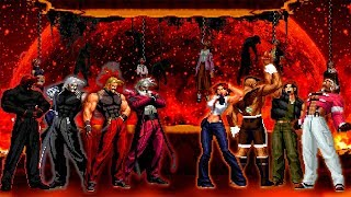 Kof Mugen Rugal Team VS Super Punch Team!