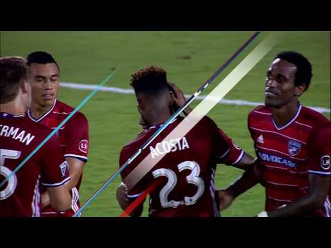 FCD is 2 on 0 in and Tesho makes the unselfish pass to Castillo to make it 4-0!