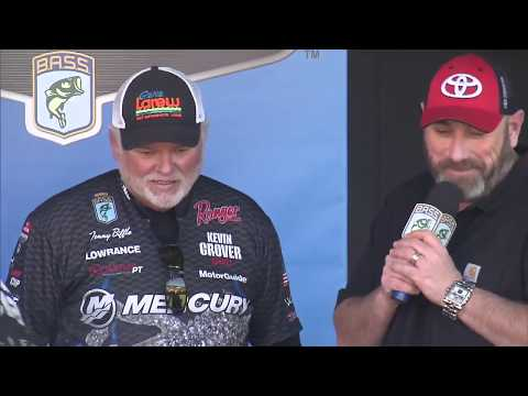 Elite weigh-in: Lake Martin Day 1