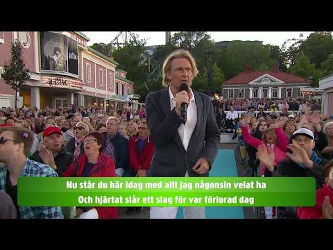 Allsång Tommy Nilsson – Öppna din dörr - Lotta på Liseberg (TV4)