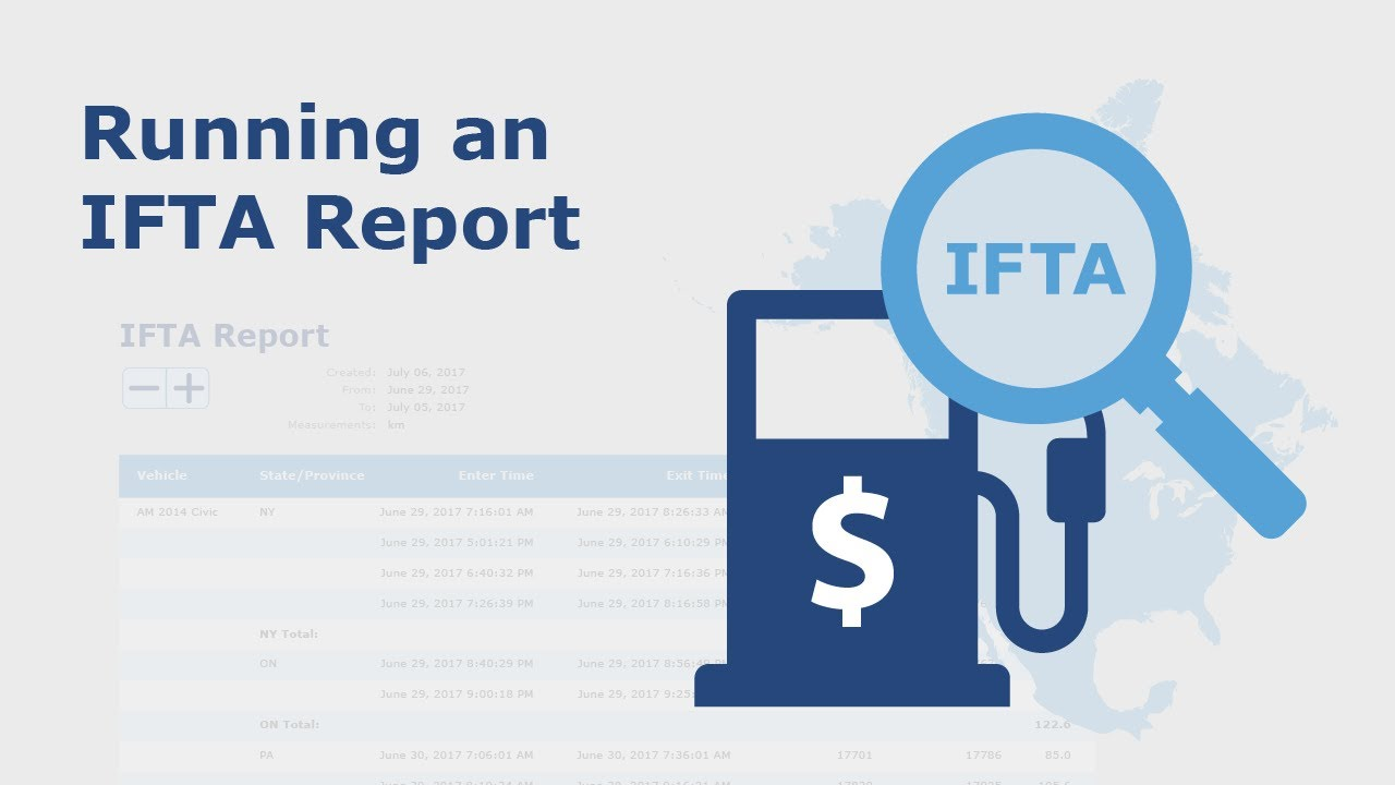How to Run an IFTA Report | Fleet Compliance