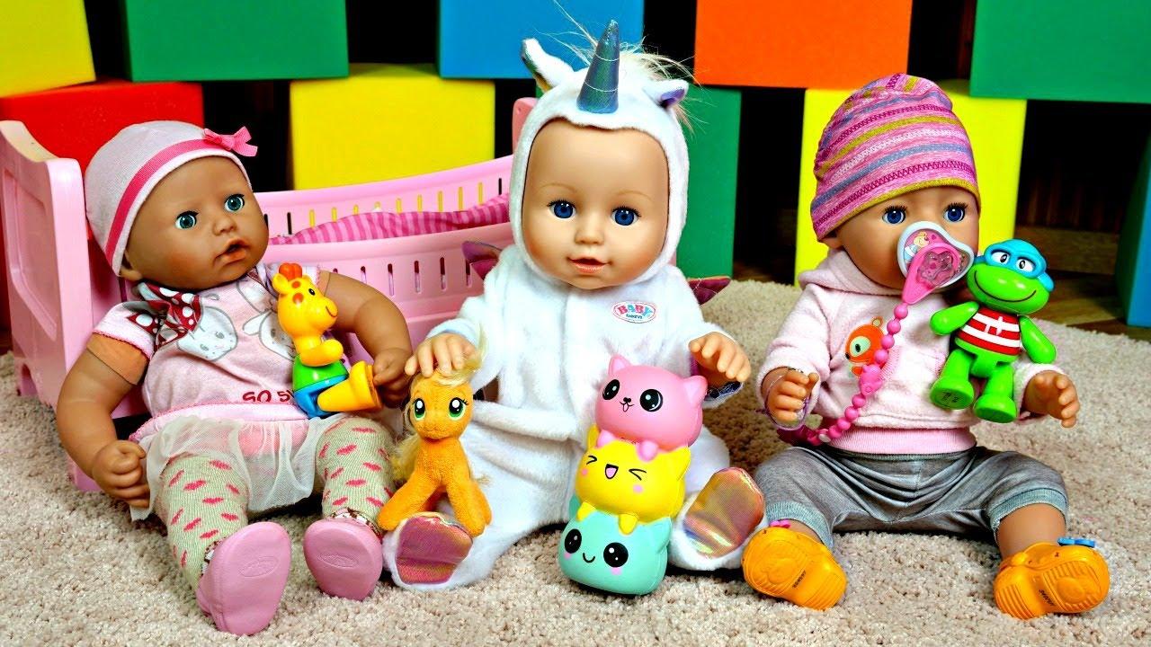 Baby Annabell -nukke. Baby Born -kaksosnuket ...