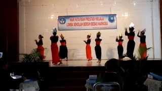 Lomba BNP Tari kreasi Kelas X.Akuntansi 1 Tahun 2014/2015 SMK Negeri 3 Palembang