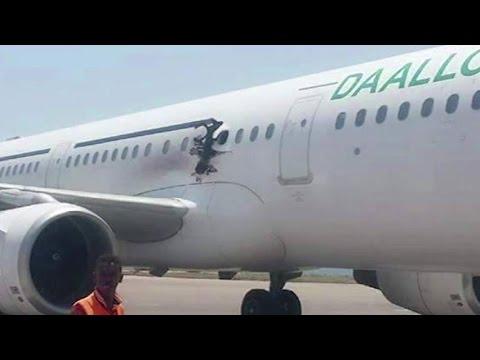 Terror Suspect Blown Out of Plane Over Somalia