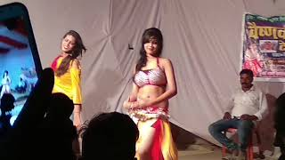 Hot stage show clip in Darihara ( Saran ) on 18 oct 2018.