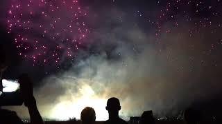 Фестиваль фейерверков Огни Спутника. Пенза, 28 июля 2018 год