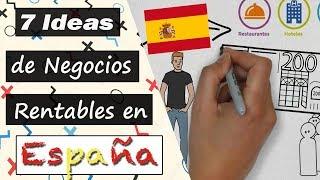 7 Ideas de Negocios MÁS RENTABLES en España 🤑 | Negocios en Auge 2018