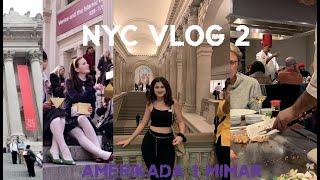 NYC Vlog 2 | Metropolitan Muzesi | Tappenyaki Restaurant | Central Park