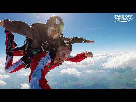 TAKE OFF Fallschirmsport: Dein Tandemsprung | TAKE OFF Fallschirmsport Fehrbellin Bei Berlin...