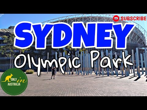 SYDNEY OLYMPIC PARK | ANZ STADIUM | NSW RUGBY LEAGUE CENTRE OF EXCELLENCE | WALK AROUND SYDNEY
