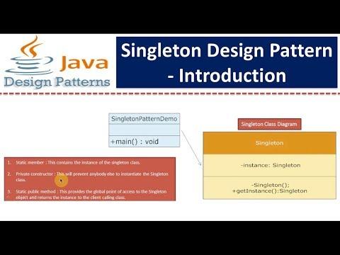 Singleton Design Pattern - Introduction