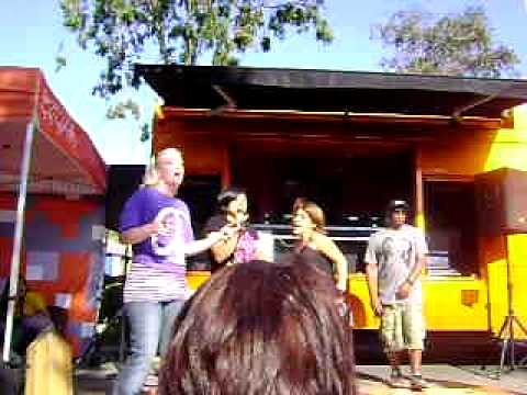 """Truth"" karaoke warped tour '09"