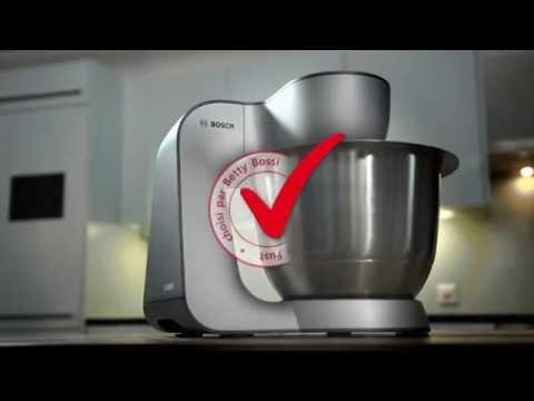 robot de cuisine bosch mum5 test de performance par betty bossi youtube. Black Bedroom Furniture Sets. Home Design Ideas
